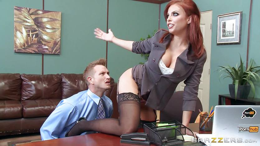 Brazzers milf britney amber gets fucked at work Boss Babe Britney Amber Fucks A Porn Loving Employee 4tube